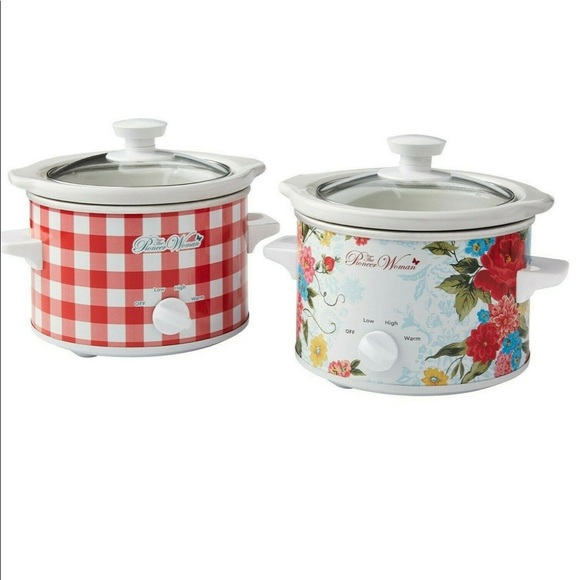 The Pioneer Woman 1.5-Quart Slow Cooker Set of 2